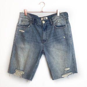 New We The Free Caroline Cut Off Shorts